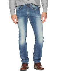 65bd5b72c6d Buffalo David Bitton - Six-x Slim Straight Jeans In Vintage Sanded (vintage  Sanded