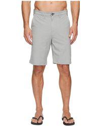 Billabong - Crossfire X Shorts (grey) Men's Shorts - Lyst