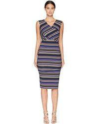 Nicole Miller - Tuck Dress (multicolored) Women's Dress - Lyst