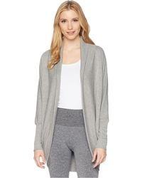 57c451d126 Jockey Active - Cocoon Wrap (deep Black) Women s Sweater - Lyst