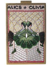 Alice + Olivia Sophia Vintage Twins North South Clutch