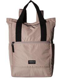 adidas Originals - Originals Tote Pack Ii Backpack (night Red) Backpack Bags - Lyst