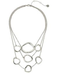The Sak | Metal Link Frontal Necklace 16"
