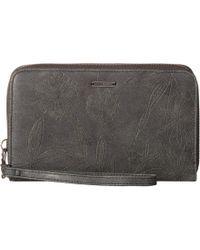 Roxy - Won My Heart Wallet (true Black) Wallet Handbags - Lyst