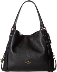 COACH - Pebbled Leather Edie 31 Shoulder Bag - Lyst
