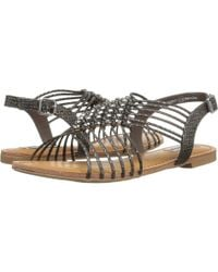 Not Rated - Iron Gate (taupe) Women's Sandals - Lyst