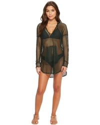 Green Dragon - Nice Catch Baja Fishnet Hoodie - Lyst