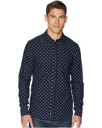 Scotch & Soda - Ams Blauw Regular Fit All Over Print Shirt W/ Seasonal Artwork (combo A) Men's Clothing - Lyst