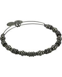 ALEX AND ANI - Spellbound Bangle (shiny Silver) Bracelet - Lyst