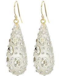 Alexis Bittar - Diamond Dust Dewdrop Earrings (silver) Earring - Lyst