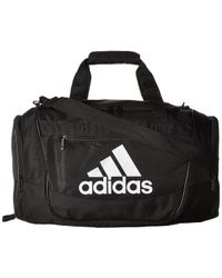 1bc3fccbf1 adidas - Defender Iii Small Duffel (collegiate Navy black white) Duffel Bags