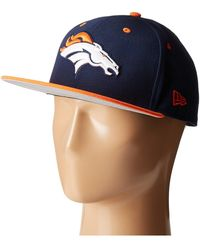 0ffb67cb4 Lyst - Ktz Nfl Baycik Snap 59fifty - Denver Broncos in Blue for Men