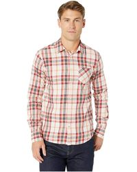 Scotch & Soda - Regular Fit Ams Blauw Brushed Cotton Checked Shirt (combo C) Men's Clothing - Lyst