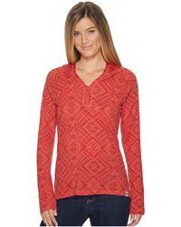 Smartwool - Merino 150 Pattern Hoodie (dark Blue Steel) Women's Sweatshirt - Lyst