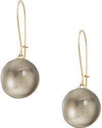Alexis Bittar - Dangling Sphere Kidney Wire Earrings - Lyst