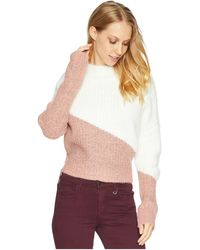 Bishop + Young - Color Block Sweater (assorted) Women's Sweater - Lyst