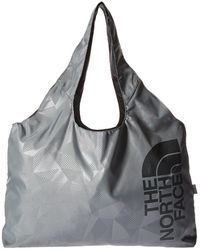 The North Face - On The Run Bag (tnf Black/zinc Grey) Tote Handbags - Lyst