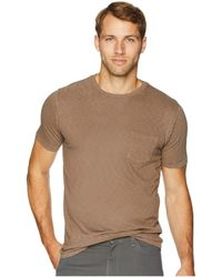 Vintage 1946 - Garment Dyed Slub Crew Neck Tee (ginger) Men's T Shirt - Lyst