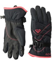 Roxy - Jetty Solid Gloves (bright White) Extreme Cold Weather Gloves - Lyst