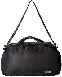 The North Face - Packable Flyweight Duffel (asphalt Grey) Duffel Bags - Lyst
