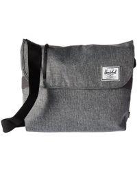 Herschel Supply Co. - Odell (raven Crosshatch) Messenger Bags - Lyst