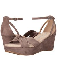 Dirty Laundry - Dl Dive In Wedge Sandal (dusty Taupe) Women's Sandals - Lyst