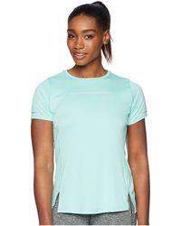 Asics - Lite-show Short Sleeve Top (coralicious) Women's Workout - Lyst