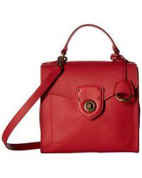 Lauren by Ralph Lauren - Millbrook Top Handle Crossbody Satchel (red) Handbags - Lyst