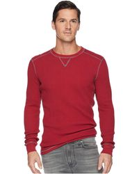 Mod-o-doc - Seacliff Long Sleeve Crew Thermal Crew (mars) Men's Long Sleeve Pullover - Lyst