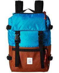 Topo Designs - Rover Pack (turquoise/clay) Backpack Bags - Lyst
