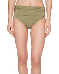 Vince Camuto - Riviera Solids Convertible High-waist Bikini Bottom - Lyst