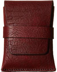 Bosca | Washed Collection - Envelope Card Case | Lyst