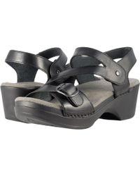 Dansko - Shari (black Full Grain) Women's Shoes - Lyst