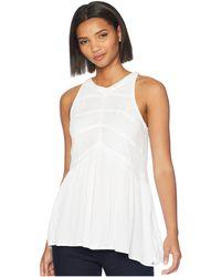 Volcom - Haute Stone Top (white) Women's Clothing - Lyst