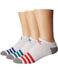 adidas Originals - Originals Roller No Show Sock 3-pack - Lyst