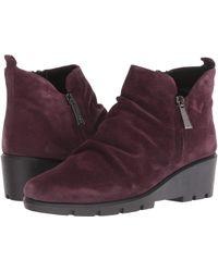 The Flexx - Sling Shot (bordo Suede) Women's Shoes - Lyst