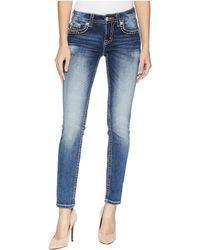 Miss Me - Skinny Jeans In Medium Dark - Lyst