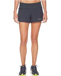 Brooks - Chaser 3 Shorts (black/multi Alpha) Women's Shorts - Lyst