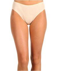 Hanro - Cotton Seamless Hi-cut Full Brief 1626 (white) Women's Underwear - Lyst