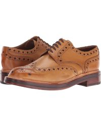 Grenson - Men's Archie V Leather Brogues - Lyst