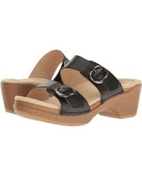 Dansko - Sophie (tan Metallic) Women's Sandals - Lyst