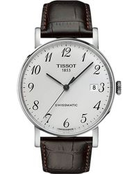 Tissot - Everytime Swissmatic - T1094071603200 (brown) Watches - Lyst