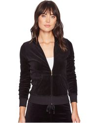 Juicy Couture - Fairfax Velour Jacket - Lyst