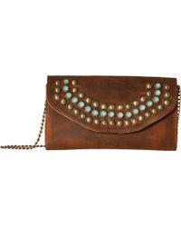 Leatherock - Wanda Crossbody Wallet (silver) Wallet Handbags - Lyst