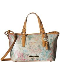 Brahmin - Mini Asher (creme) Handbags - Lyst