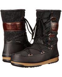 Tecnica - Moon Boot(r) Vienna Felt (black) Women's Boots - Lyst