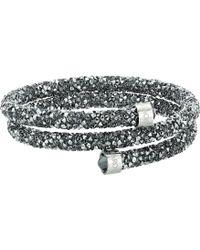 Swarovski - Crystaldust Bangle Bracelet (grey) Bracelet - Lyst
