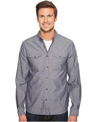 Fjallraven - Ovik Chambray Shirt (chalk White) Men's Long Sleeve Button Up - Lyst