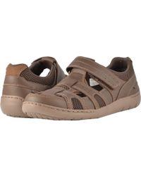 Dunham - Fitsmart Fisherman (brown) Men's Hook And Loop Shoes - Lyst