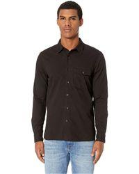 Baldwin Denim - Greer (black) Men's Long Sleeve Button Up - Lyst